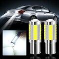 2 шт. P21W 1156 BA15S светодиодный лампы резервные фары заднего хода автомобиля для peugeot 206 207 208 307 308 407 408 2008 для citroen c4 c5 c3 C4L