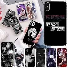Anime tóquio ghoul japão suave caso de telefone para iphone 12 pro max mini 11 pro xs max 8 7 6s plus x 5S se 2020 xr capa