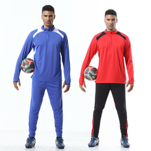 Men sportswear football training suits soccer sets tracksuits long sleeve jerseys Team uniform sports Running kit