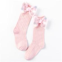 Socks Girls Princess-Sock Cotton Children New Bow Short Organza Pearl Butterfly