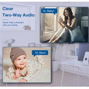 Image 3 - Techage 1080P bezprzewodowa kamera IP niania elektroniczna Baby Monitor 2MP kopułkowa wideo CCTV nadzoru dwukierunkowe Audio bezpieczeństwo w domu kamera Wifi