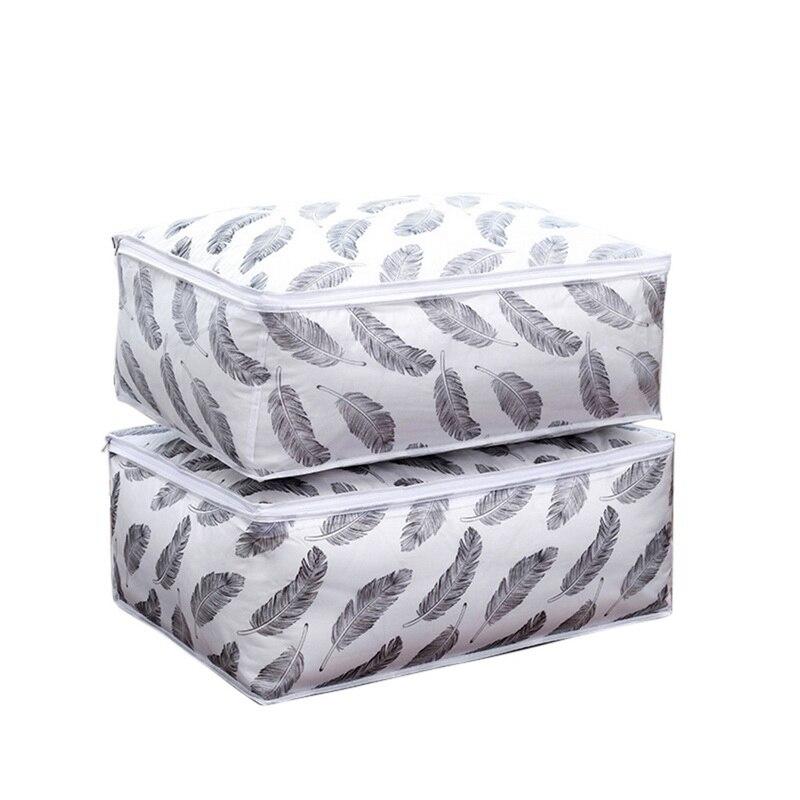 Одежда, одеяло, сумка для хранения, шкаф для одеял органайзер для свитера, коробка для сортировки, мешки, шкаф для одежды, контейнер для путешествий, дома, Прямая поставка - Цвет: H3