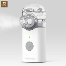 Xiaom mijia jiuanアンドンポータブルマイクロ噴霧器噴霧器ミニハンドヘルド吸入器レスピレーター子供と大人のため咳治療