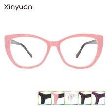 Cp016 Женские квадратные оправы для очков кошачий глаз женские