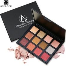 Attractive Scenery Brand 12 Color Eyeshadow Palette Eye Shadow Make up Set Cosmetics 5 Model