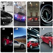 Fundas de silicona suave para teléfono móvil TPU para Huawei P8 P9 P10 P20 P30 Honor 6X7X7 9 mate 10 Pro Lite P Smart Super coche Alfa Romeo
