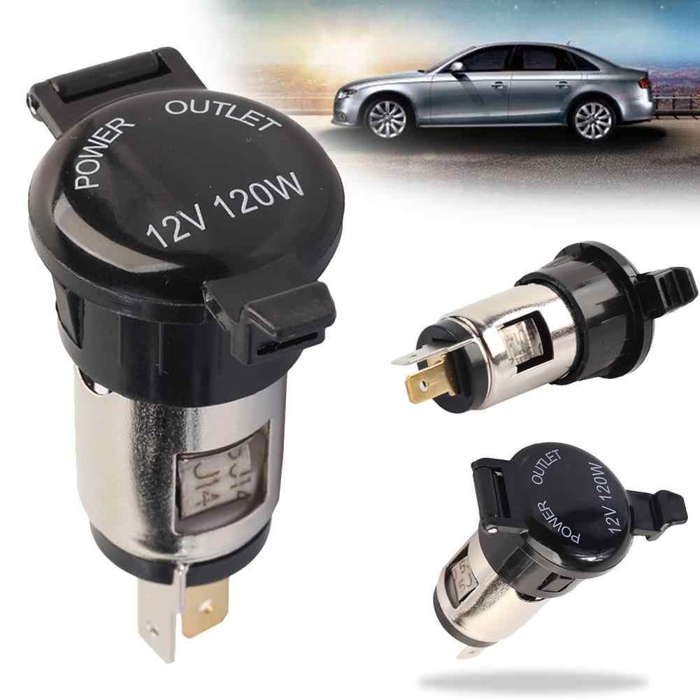 Xe 10A Lửa Nữ Ổ Cắm Ổ Cắm Điện Có Nắp Che Chống Nước Thuốc Lá Bật Lửa Sạc USB Bật Lửa Ổ Cắm Mới