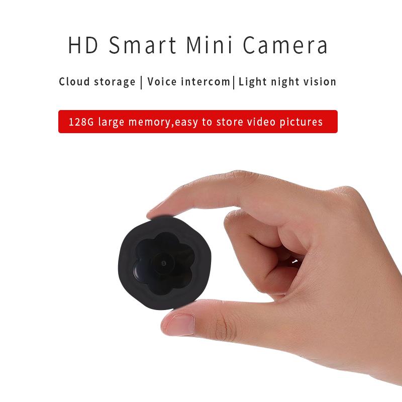 Mini Wireless WiFi Camera 720P HD Ip Camera Remote Monitor Security Camera Motion Detection Night Vision Home Camcorder IP Cam