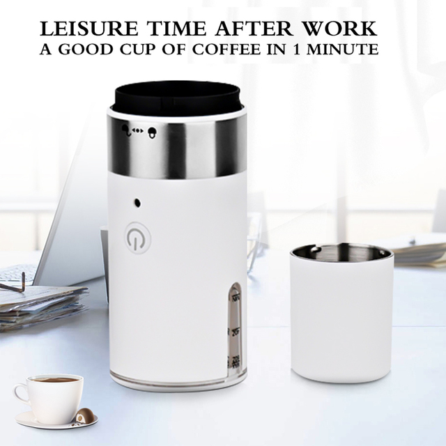 200ml Portable Electric Coffee Maker Handheld Espresso Coffee Machine for Home Office Outdoor Travel Camping Hiking 3