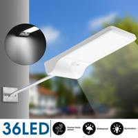 IP65 방수 36 LED 야외 태양 광 전원 PIR 모션 센서 보안 램프 장착 장 대 집에 적합