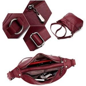 Image 5 - Lüks çanta kadın çanta tasarımcısı yumuşak deri çanta kadınlar için Crossbody askılı çanta bayanlar Vintage omuzdan askili çanta ünlü marka
