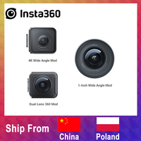 Original Insta360 ONE R Lens Mod 1 Inch Mod Leica Mod Sports Camera 4k Mod 360 Mod Insta 360 Accessories