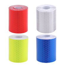 Motorcycle Sticker Tape-Roll Warning-Signs Truck Fluorescence Reflective Car Yellow 3M
