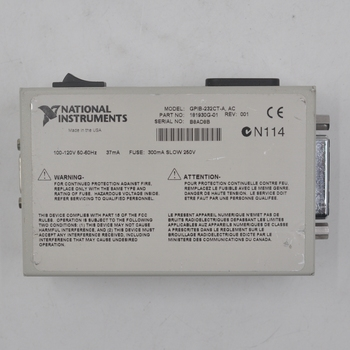 American NI GPIB-232CT-A AC GPIB-232CT-A DC converter ni gpib cable ieee488 cable 763507b 02 2meter original brand new well tested working one year warranty