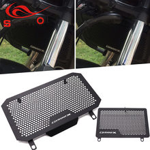 Motorcycle Radiator Guard Grille Oil Cooler Cover for Honda CB500X CB500F CB400F CB400X Heat Shield Pro LOGO CB500X(China)