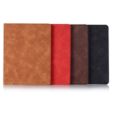 Retro Tablet Cover For iPad Air 1 Air 2 Case Smart Card Slot PU Leather Stand