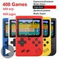 400 В 1 8 бит портативный Ретро Видео игровой консоли плеер игровой Portatil Мини Аркадные видеоигры машина 8 бит ручной