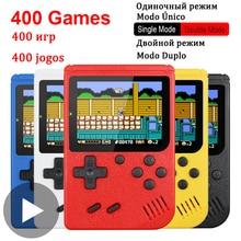 400 in 1 8 Bit Portable Handheld Retro Video Game Console Player Gaming Portatil Mini Arcade Videogames Machine 8bit Hand Held