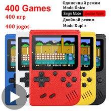 400 w 1 8 Bit przenośny podręczny Retro gra wideo konsola do gier do gier Portatil Mini Arcade gry wideo maszyna do 8bit ręczny