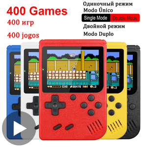 400 in 1 8 Bit Portable Handheld Retro Video Game Console Player Gaming Portatil Mini Arcade Videogames Machine 8bit Hand Held