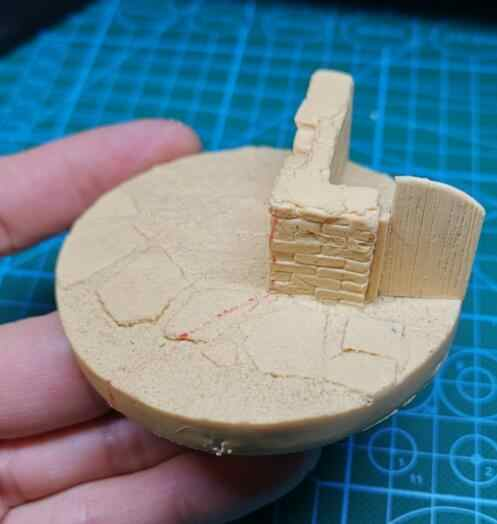 1/35 Resina Farm Scene di Stile di Base 1 pc (adatto per 2-3pcs soldato)