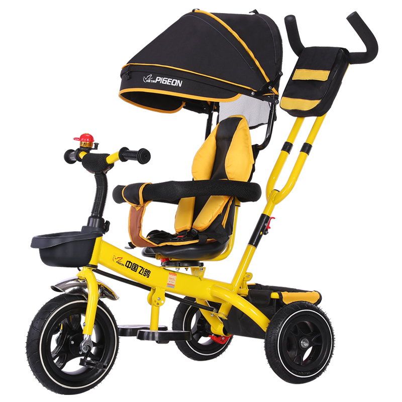 Pigeon Tricycle For Children 1-3-5 Years Old Baby Bicycle Baby Trolley Bicycle For Children