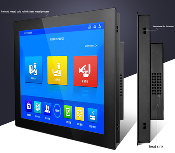 15 Inch Industrial Tablet pc all-in-one pc With Capacitive Touch Screen for Windows /Linux / j1900 with ram 4G ,SSD 64G