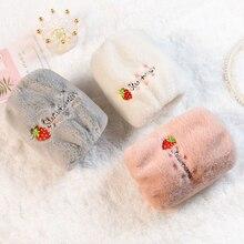 2020 Autumn Winter Kids Children Keep Warm Oversleeve Cartoon Animal Velvet Dustproof Sleeves for Dining Stain Resistant Girls