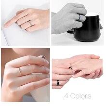 2mm Pink Titanium Ring Engagement Men Women Wedding 100% Carbide Free Shipping