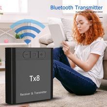 TX8 Drahtlose Bluetooth 4,0 Sender Empfänger für Kopfhörer PC Laptop Tablet Maximale Übertragung Abstand Übersteigt 33 Füße