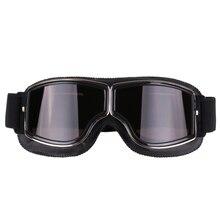 Retro รถจักรยานยนต์แว่นตาแว่นตา Vintage รถจักรยานยนต์แว่นตากีฬากลางแจ้งสำหรับ Harley Aviator แว่นตา