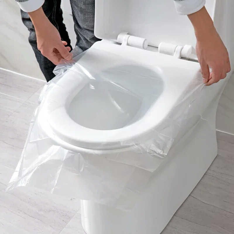 Protable Toilet Paper Bag Mat Disposable Toilet Seat Cover Mat Eco-Friendly Travel Gadget Portable Bathroom Accessories