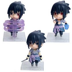 Haledongman Наруто Аниме милый 21 поколение 3-саске Гараж Комплект куклы 10 см фигурка