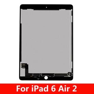 Aaa + 9.7 display display display para apple ipad 6 ar 2 a1567 a1566 display lcd de toque digitador da tela substituição para ipad 6 lcd