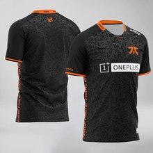 Fnatic – t-shirt de l'équipe Esports,Streetwear imprimé, juulolcsgo DOTA2 Pro Player, personnalisé, à la mode, pour hommes et femmes