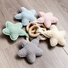 Baby Toys 0-12 Months Amigurumi Crochet Rattle Baby Toys Montessori Toy Cartoon Shape 1pc Let's Make
