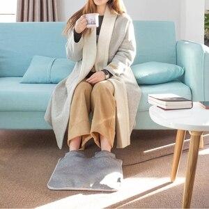 Image 4 - 원래 샤오미 Youpin 전기 발 따뜻하게 난방 패드 일정한 따뜻한 접이식 쿠션 겨울 난방 피트 신발 전기 담요