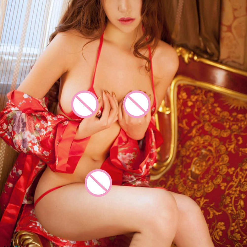 Uniform Sexy Cosplay Sex Cherry Blossom Women Sexy Lingerie Kimono Costumes Erotic Lingerie Intimate Clothes Robe Exotic Apparel