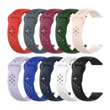 Colorful Silicone Smart Watch Band 22mm Wristband Straps for Polar Vantage M Watch Unisex