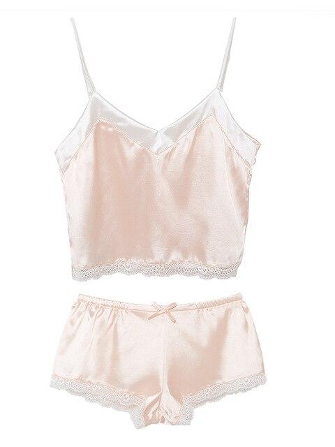 Купить пикантные пижамные комплекты летний женский комплект милые розовые картинки цена