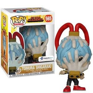 Оригинальные виниловые куклы Funko pop My Hero моя геройская Академия Deku Silver age all might tomura shigaraki, модель, игрушки для детей, подарки
