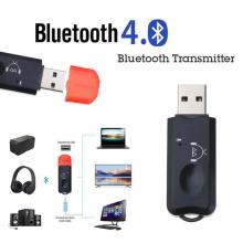Receiving Audio-Adapter Stereo-Microphone Transmit Bluetooth Player Speaker Usb Aux Wireless