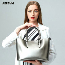 High-end luxury brand leather ladies bag handbag European and American fashion one shoulder slung head layer leather bag
