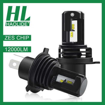 /HL ZES Chip Lamp for Car Headlight Bulb HB4 6000K White Led H7 Mini H1 H4 H11 9006 H8 Refit Auto Turbo Super LED 9005 Light Kit