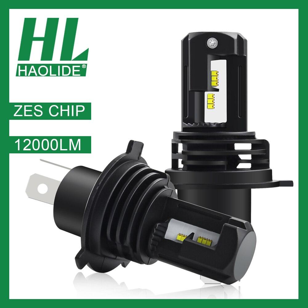 /HL ZES Chip Lamp for Car Headlight Bulb HB4 6500K White Led H7 Mini H1 H4 H11 9006 H8 Refit Auto Turbo Super LED 9005 Light Kit