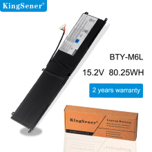 Laptop Battery BTY-M6L Kingsener for MSI Gs65/8rf/8re/.. New