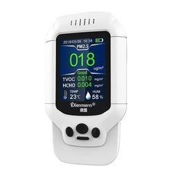 Pm2.5/Hcho/Tvoc Tester gazu Aqi detektor powietrza Monitor jakości miernik smogu domowego