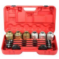 26Pcs Car Universal Bush Bearing Removal Insertion Tools Set Press Pull Sleeve Tools Set