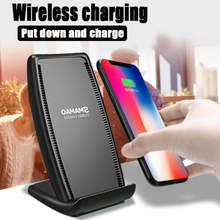 S700 Qi Wireless Charger Fast Charging Stand With Cooling Fan For Samsung IPhone Huawei Smartphones