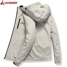 Куртка мужская водонепроницаемая, дышащий дождевик с капюшоном, повседневная верхняя одежда, ветровка, туристический горный дождевик, весна осень